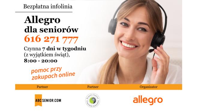 KIGS i Allegro wspierają seniorów w zakupach online